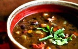 Image of Amazing Black Bean Soup
