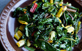 Image of Cooked Dark Leafy Greens